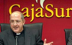 Santiago Gómez Sierra, presidente de CajaSur