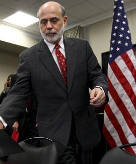 Ben Bernanke, el presidente de la Reserva Federal de Estados Unidos