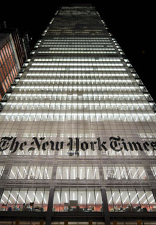 Sede de 'The New York Times' en Manhattan | Foto Efe