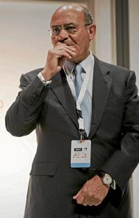 Gerardo Díaz Ferrán, presidente de la CEOE.