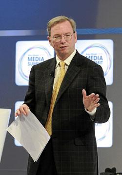 Eric Schmidt, consejero delegado de Google.