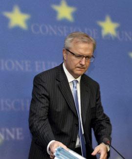 Olli Rehn, comisario de Asuntos Económicos de la Comisión Europea