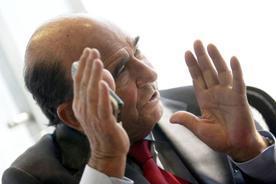 Emilio Botín es el presidente de Santander