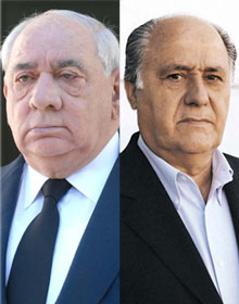 Isidoro Álvarez y Amancio Ortega
