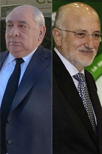 Isidoro Álvarez y Juan Roig