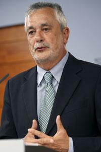 El presidente de la Junta de Andalucia, José Antonio Griñán