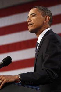 Barack Obama, ayer en Parma (Ohio)
