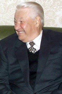 El ex presidente de Rusia Boris Yeltsin