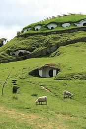 Varios 'smiales' excavados en la colina de Matamata, Nueva Zelanda