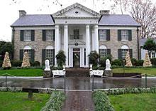 'Graceland', la casa museo de Elvis Presley