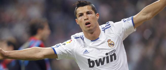 La estrella del Real Madrid, Cristiano Ronaldo, celebra un gol en un partido durante esta temporada | Foto: Efe