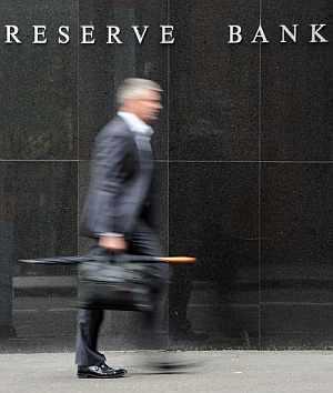 Banco Central de Australia. AFP PHOTO / Torsten BLACKWOOD