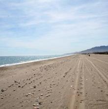 'El Playazo' de Vera, es una de las playas naturistas más antiguas y más largas de toda la costa española