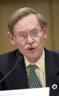 El presidente del Banco Mundial, Robert B. Zoellick, hace unos días.