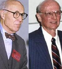Lawrence Klein y Harry Markowitz