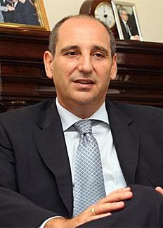 Manuel Camas, decano del Colegio de Abogados de Málaga