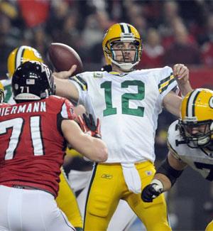 El jugador de los Green Bay Packers, Aaron Rodgers | Foto: Efe