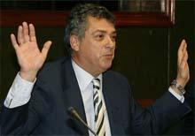 Ángel María Villar, presidente de la Real Federación Española de Fútbol (RFEF)
