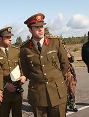 El hijo de Gadafi está inscrito como Khamis Muammar | Foto Belta
