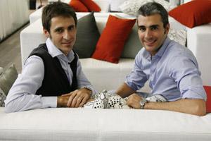 Lucas Carné y José Manuel Villanueva, fundadores de Privalia | Foto: E. R.