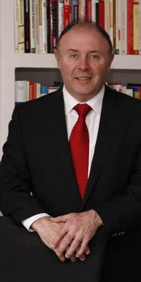 José María Vilas ha trabajado en CPC, Bestfoods y Unilever, y ahora preside el grupo Panrico.   Elena Ramón