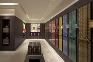 Zona de autocompra de Nespresso en la nueva generación de 'boutiques' estrenada en Múnich.