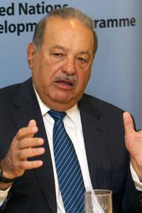 El empresario mexicano Carlos Slim. | Foto: Miguel Rajmil