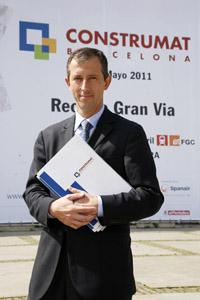 Josep Miarnau, presidente de Construmat. | Foto: Elena Ramón