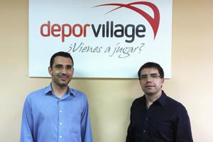 Xavier Pladellorens y Ángel Corcuera dirigen DeporVillage.