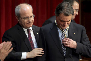 Investidura de Artur Mas como President de la Generalitat. | Elena Ramón
