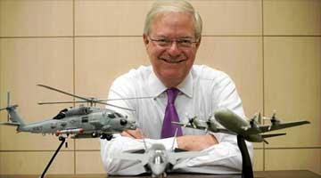 Scott Harris, Presidente de Lockheed en Europa