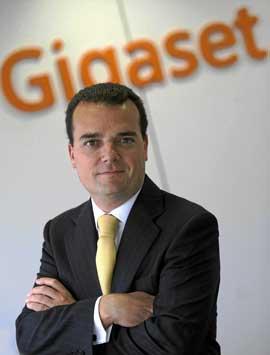 Sergio Talarewitz, director general de Gigaset.