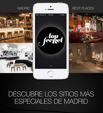 Top secret madrid una app para descubrir sitios con - Madrid sitios con encanto ...