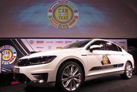 El Volkswagen Passat, coche del año en Europa