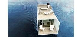 Las nuevas casas flotantes para los clubs náuticos