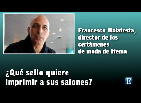 """Francesco Malatesta: """"La moda es un código de comunicación social"""""""